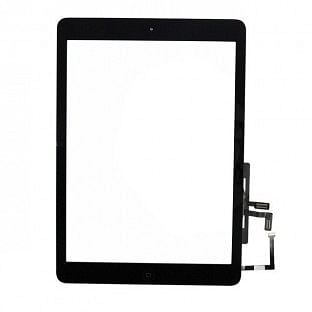 iPad Air Touchscreen Glas Digitizer OEM Schwarz Vormontiert