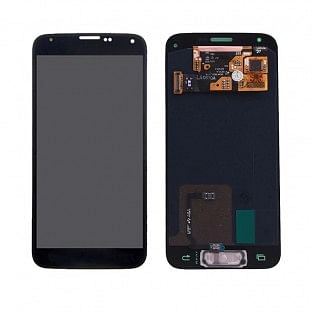 Ersatzdisplay Samsung Galaxy S5 Mini AMOLED LCD Digitizer Schwarz