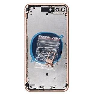iPhone 8 Plus Backcover mit Rahmen vormontiert Gold