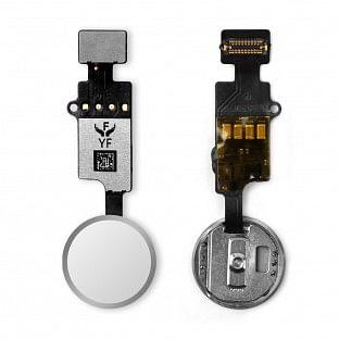 Home Button für iPhone 7-8 mit Flexkabel Weiss