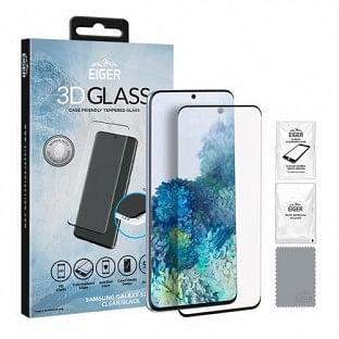 Eiger Samsung Galaxy S20 Plus 3D Glass Display Schutzfolie für die Nutzung mit Hülle geeignet(EGSP00567)