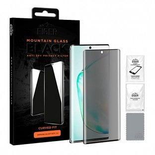 Eiger Samsung Galaxy S10 Lite 3D Glass Display Schutzfolie für die Nutzung mit Hülle geeignet (EGSP00533)