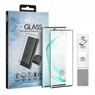 Eiger Samsung Galaxy Note 10 Plus 3D Glass Display Schutzfolie für die Nutzung mit Hülle geeignet (EGSP00533)