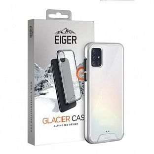 Eiger Samsung Galaxy A51 Hard-Cover Glacier Case transparent (EGCA00197)