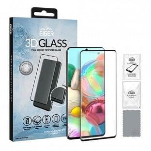 Eiger Samsung Galaxy A1 3D Glass Display Schutzfolie für die Nutzung mit Hülle geeignet (EGSP00571)
