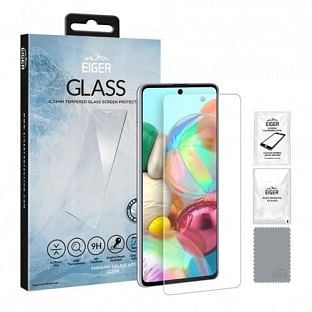 "Eiger Samsung Galaxy A71 Display-Schutzglas ""2.5D Glass clear"" (EGSP00574)"