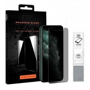 Eiger Apple iPhone 11 Pro Max 3D Privacy Display Schutzglas für die Nutzung mit Hülle geeignet (EGSP00119)