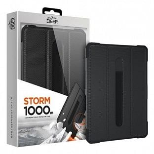 Eiger Apple iPad Pro 12.9'' (2018 / 2020) Outdoor-Cover Storm 1000m Schwarz (EGPE00107)