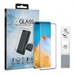 Eiger Huawei P40 Pro 3D Glass Display Schutzglas für die Nutzung mit Hülle geeignet (EGSP00601)