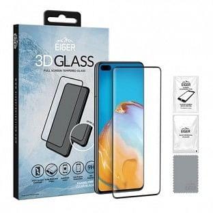 Eiger Huawei P40 3D Glass Display Schutzglas für die Nutzung mit Hülle geeignet (EGSP00599)