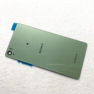 Sony Xperia Z3 Backcover Rückschale mit Kleber Grün