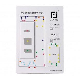 Magnetische Schraubenhalter-Matte für iPhone 6S