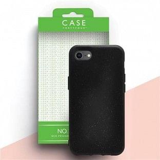 Case 44 ökologisch abbaubares Backcover für iPhone SE (2020) / 8 / 7 / 6S / 6 Schwarz