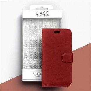 Case 44 faltbare Hülle mit Kreditkarten-Halterung für das iPhone SE (2020) / 8 / 7 / 6S / 6 Rot (CFFCA0136)