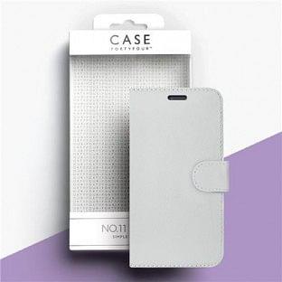 Case 44 faltbare Hülle mit Kreditkarten-Halterung für das iPhone SE (2020) / 8 / 7 / 6S / 6 Weiss (CFFCA0138)