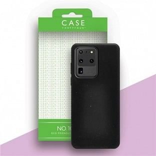 Case 44 ökologisch abbaubares Backcover für Samsung Galaxy S20 Ultra Schwarz (CFFCA0284)