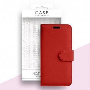 Case 44 faltbare Hülle mit Kreditkarten-Halterung für das Samsung Galaxy S20 Ultra Rot (CFFCA0375)