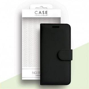 Case 44 faltbare Hülle mit Kreditkarten-Halterung für das Samsung Galaxy S20 Ultra Schwarz (CFFCA0367)