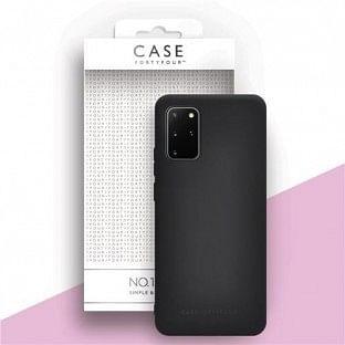 Case 44 Silikon Backcover für Samsung Galaxy S20 Plus Schwarz (CFFCA0325)