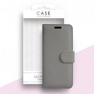 Case 44 faltbare Hülle mit Kreditkarten-Halterung für das Samsung Galaxy S20 Plus Grau (CFFCA0366)