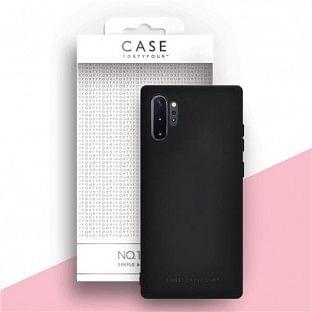 Case 44 Silikon Backcover für Samsung Galaxy Note 10 Plus Schwarz (CFFCA0324)