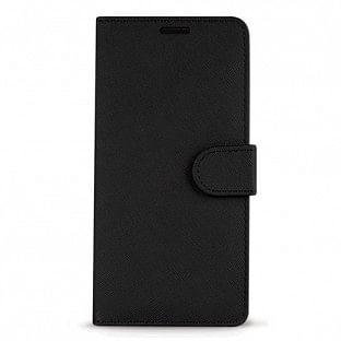 Case 44 faltbare Hülle mit Kreditkarten-Halterung für das Samsung Galaxy Note 10 Plus Schwarz (CFFCA0232)