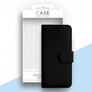 Case 44 faltbare Hülle mit Kreditkarten-Halterung für das Samsung Galaxy A71 Schwarz (CFFCA0387)