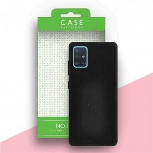 Case 44 ökologisch abbaubares Backcover für Samsung Galaxy A51 Schwarz (CFFCA0337)