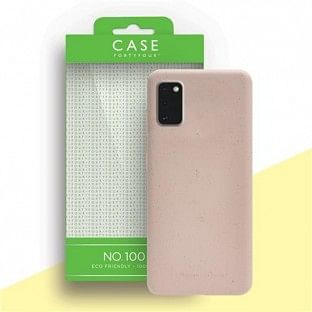 Case 44 ökologisch abbaubares Backcover für Samsung Galaxy A41 Pink (CFFCA0443)