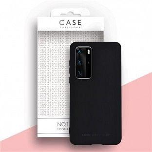 Case 44 Silikon Backcover für Huawei P40 Pro Schwarz (CFFCA0433)