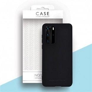 Case 44 Silikon Backcover für Huawei P40 Schwarz (CFFCA0431)