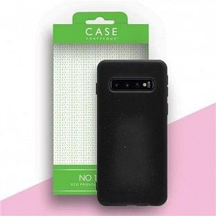 Case 44 ökologisch abbaubares Backcover für Samsung Galaxy S10 Schwarz (CFFCA0293)