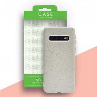 Case 44 ökologisch abbaubares Backcover für Samsung Galaxy S10 Weiss (CFFCA0294)