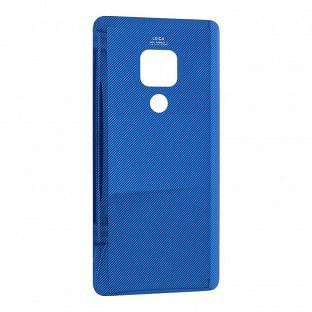 Huawei Mate 20 Backcover Akkudeckel Rückschale Blau mit Kleber
