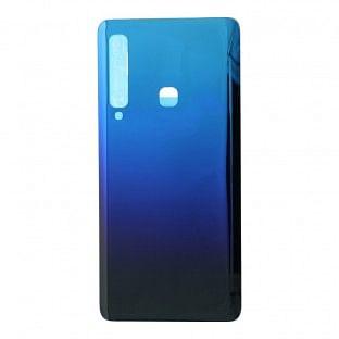 Samsung Galaxy A9 (2018) Backcover Akkudeckel Rückschale Blau mit Kleber