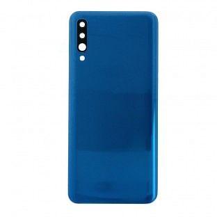 Samsung Galaxy A50 Backcover Akkudeckel Rückschale Blau mit Kleber