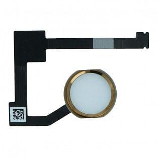 iPad Air 2 / Mini 4 Home Button / Fingerabdruck Sensor mit Flexkabel Gold