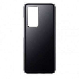 Huawei P40 Backcover Akkudeckel Rückschale Schwarz mit Kleber