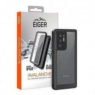 "Eiger Samsung Galaxy Note 20 Ultra Outdoor Cover ""Avalanche"" Schwarz (EGCA00236)"