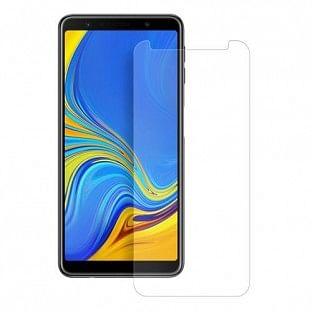 Eiger Samsung Galaxy A7 (2018) Vollbild 2.5D Panzer Glas Display Schutzfolie (EGSP00318)