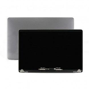 Bildschirm LCD für MacBook Pro 15'' (A1990) komplett mit Rückseite vormontiert Grau