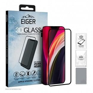 "Eiger Apple iPhone 12 / 12 Pro Display-Glas ""3D Glass"" (EGSP00622)"