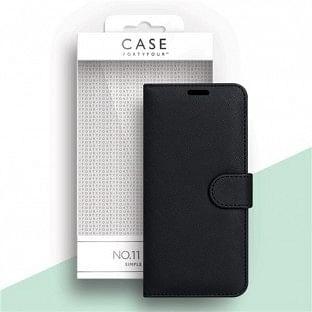 Case 44 faltbare Hülle mit Kreditkarten-Halterung für das iPhone 12 / 12 Pro Schwarz (CFFCA0474)