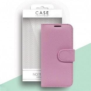Case 44 faltbare Hülle mit Kreditkarten-Halterung für das iPhone 12 / 12 Pro Pink (CFFCA0476)