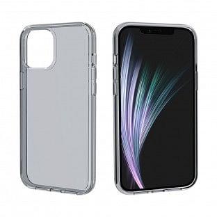 Schutzhülle transparent Schwarz für iPhone 12 / iPhone 12 Pro