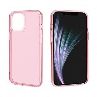 Schutzhülle transparent Pink für iPhone 12 / iPhone 12 Pro