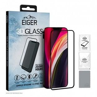 "Eiger Apple iPhone 12 Pro Max Display-Glas ""3D Glass"" (EGSP00623)"