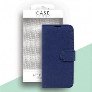 Case 44 faltbare Hülle mit Kreditkarten-Halterung für das iPhone 12 / 12 Pro Blau (CFFCA0475)