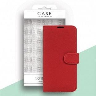 Case 44 faltbare Hülle mit Kreditkarten-Halterung für das iPhone 12 / 12 Pro Rot (CFFCA0477)