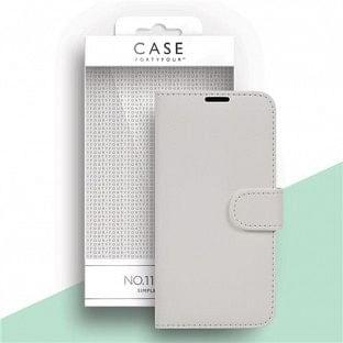 Case 44 faltbare Hülle mit Kreditkarten-Halterung für das iPhone 12 / 12 Pro Weiss (CFFCA0479)
